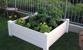 nuvue 4 x4 raised garden bed