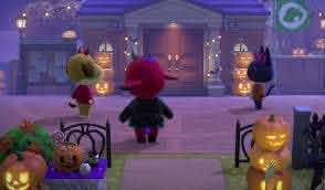 Get Spooky With These Halloween Animal Crossing New Horizons Island Flags And Tunes Mypotatogames