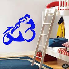 Wall Decal Motorcycle Decals Motorbike Decal Harley Wall Decal Etsy