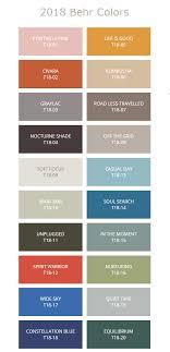 2018 paint color trends nomadic decorator