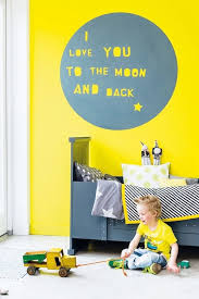 Kids Rooms Decorating With Yellow Handmade Charlotte