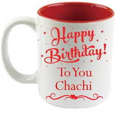 juvixbuy printed happy birthday to you chachi inside red ceramic