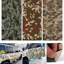 150x60cm Camo Camouflage Car Stickers Forest Desert Digital Vinyl Film Wrap Decal Air Bubble Free Sale Banggood Com