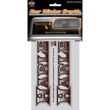 Harley Davidson Rear Window Graphics Decal Walmart Com Walmart Com