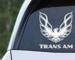 Pontiac Trans Am Screaming Eagle Die Cut Vinyl Decal Sticker Decals City
