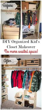 Diy Organized Kid S Closet Makeover No More Wasted Space Addicted 2 Diy