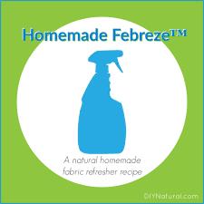 homemade febreze a homemade fabric