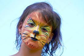 images lion face paint lion face