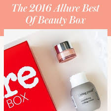 the 2016 allure best of beauty box allure