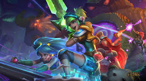 arcade skins wallpaper league of