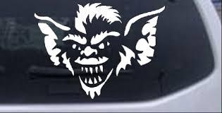 Stripe The Leader Head Gremlin Car Or Truck Window Laptop Decal Sticker 6x8 1 Ebay
