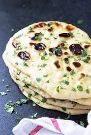 homemade naan indian flatbread the