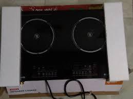 Bếp hồng ngoại đôi Comet CM5578 New 97% Fullbox + Lò vi sóng inverter 27L  Panasonic NN-ST557 New 100 - 1.600.000đ