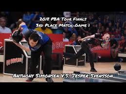 2018 pba tour finals 3rd placed match