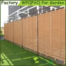 High Quality Decorative Easily Assembled Wpc Wood Plastic Composite Horrizental Garden Fence Panel View Garden Fence Panel Hawood Product Details From Suzhou Hawood Building Materials Co Ltd On Alibaba Com