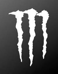 Monster Energy Vinyl Decal Claws Logo Sticker Kandy Vinyl Shop
