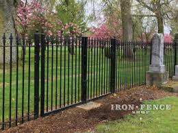 Wrought Iron Fence For Use Around A Cemetery Or Family Plot Iron Fence Shop Blog