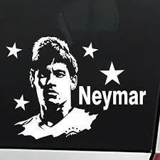 Neymar Football Player Wall Sticker Sports Decal Kids Room Decoration Posters Vinyl Neymar Car Soccer Player Decal Akolzol Com