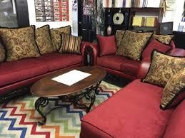 velvet red sofa loveseat set by