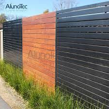 China Horizontal Aluminium Slat Fence For Garden Photos Pictures Made In China Com