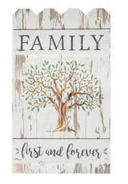 Gracie Oaks Family First And Forever Fence Wall Decor Reviews Wayfair