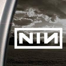 Amazon Com Nine Inch Nails Nin Decal Car Truck Window Sticker 0716669849477 Books