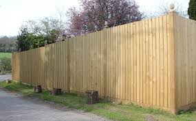 Flat Top Featherboard Fence Panels Jacksons Fencing