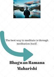 bhagwan ramana maharishi quotes collection by dr pallavi kwatra