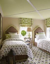 green ceiling cottage girl s room