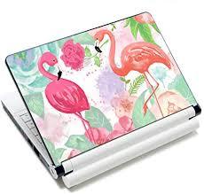 Amazon Com Laptop Skin Vinyl Sticker Decal 12 13 13 3 14 15 15 4 15 6 Inch Laptop Skin Sticker Cover Art Decal Protector Fits Hp Dell Lenovo Compaq Apple Asus Acer Flamingos Arts Crafts