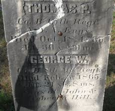George W Hill (1843-1865) - Find A Grave Memorial