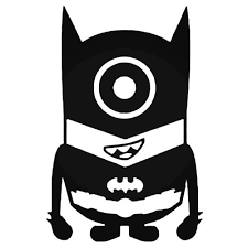 Minion Batman Vinyl Decal Sticker