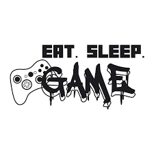 Riapawel Eat Sleep Game Quote Gamer Controller Vinyl Wall Sticker Gaming Room Decals Wall Decal Walmart Com Walmart Com