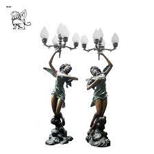 bronze lamp sculpture blsa 01