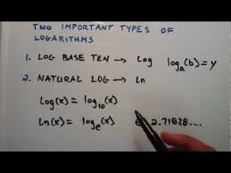 module 8 logarithms growth and decay