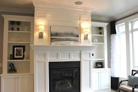 diy fireplace bookcases love the