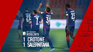 Serie BKT, 35ª giornata: Crotone-Salernitana 1-1