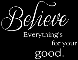 Believe Everything S For Your Good Vinyl Decal Sticker Quote Large Matte White Walmart Com