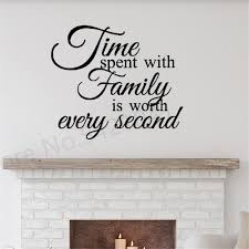 Time Spent With Family Wall Quote Decal Family Love Quotes Stickers Wall Lettering Decals Wall Decor For Living Room Bedroom Decorating Stickers Decorating Stickers Walls From Onlinegame 12 12 Dhgate Com