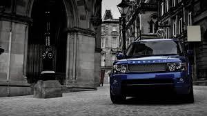 range rover cosworth blue car hd