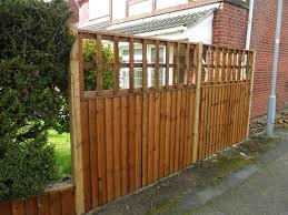 Heavy Duty Featheredge Panels Fencing And Gardening Contrator Nottingham