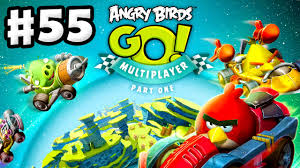 Angry Birds Go! Gameplay Walkthrough Part 55 - Multiplayer Part ...
