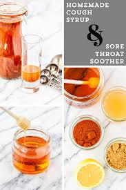 homemade cough syrup with rum