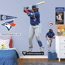 Toronto Blue Jays Vladimir Guerrero Jr Fathead 10 Pack Life Size Removable Wall Decal