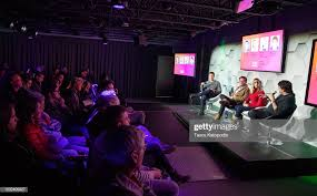 Adam Lewinson Chief Content Officer Tubi, Pip Ngo VP of Sales and... News  Photo - Getty Images