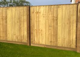 Feather Edge Fence Panel Charltons Gates And Fencing