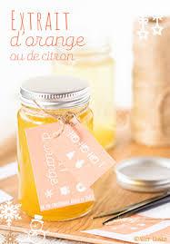 extrait d orange ou extrait de citron