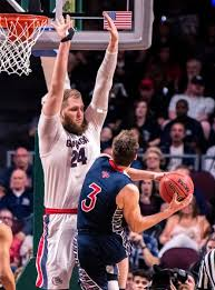 Przemek Karnowski From Poland Reflects Gonzaga's Global Approach to Hoops,  Education; Players From Six Nations