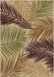 palm tree area rugs bring the beach