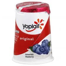 yoplait yogurt lowfat mounn